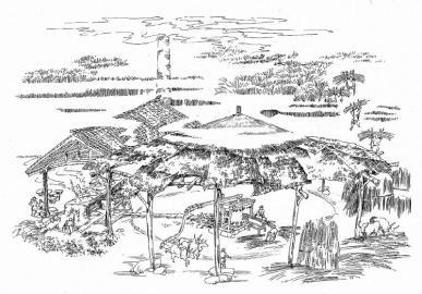 车灌坝:川西坝子大糖坊