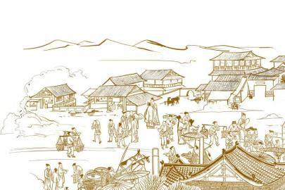 """通锦桥旁""""万佛寺""""古代成都后花园"""