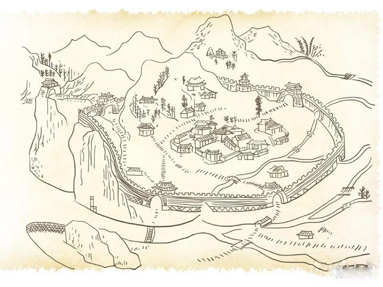 罕见都江堰灌县古城没有十字街口
