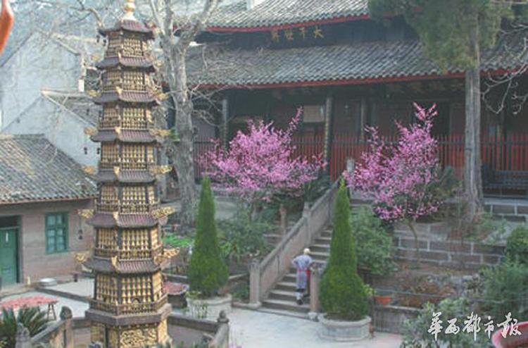 川西名刹三学寺的传奇来历