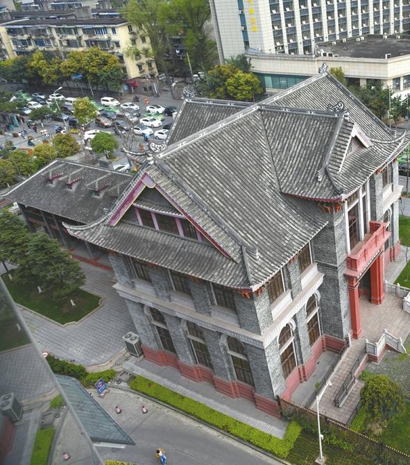 天竺园里二层小楼 曾延续中国高等教育命脉