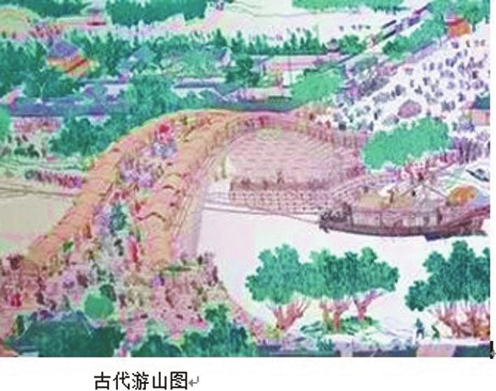 """凤凰山:古成都的""""前门园林"""""""