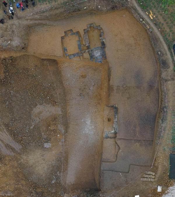 成都一收费站施工地发现罕见规模宋墓 墓主为宋朝大官